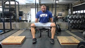 seated hip abduction, glutes