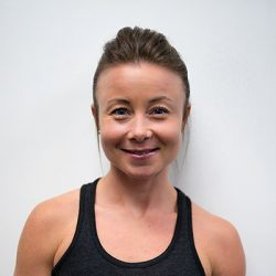 Ashley: Part owner, coach and nutritionist at Club Sweat.