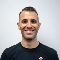 Dan: Owner and head coach at Club Sweat